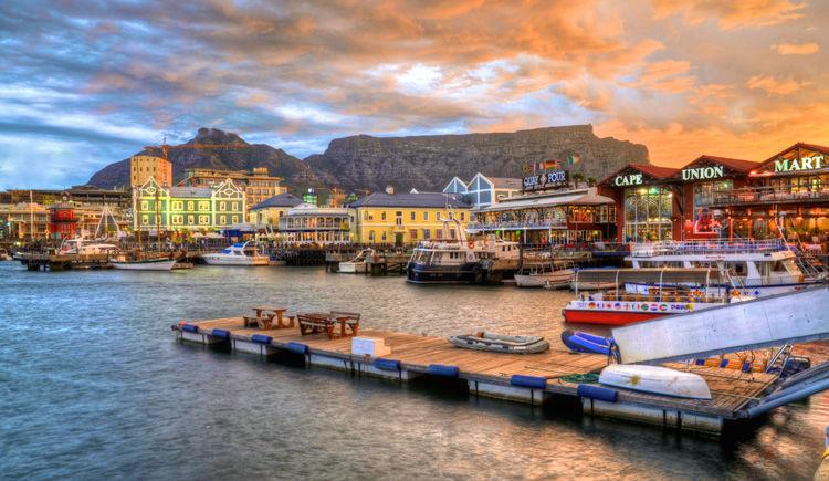 De Cape Town à Johannesbourg