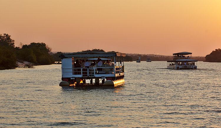croisiere sur le fleuve Zambeze