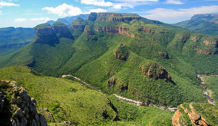 Blyde River Canyon vue des 3 Rondavels