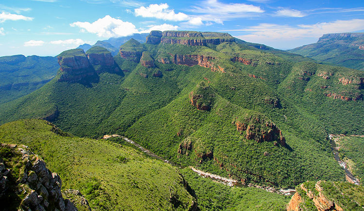 Blyde River Canyon les 3 Rondavels