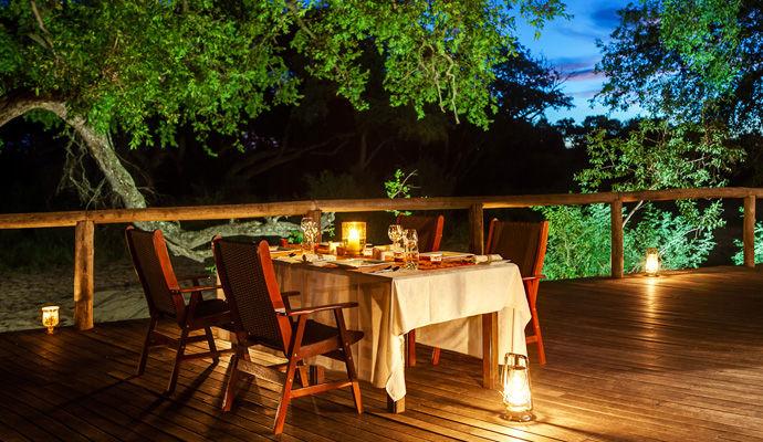 tintswalo safari lodge terrasse