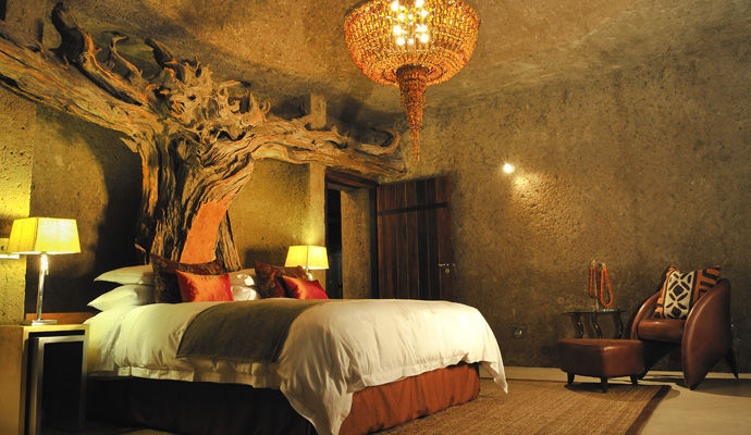 sabi sabi earth lodge suite presidentielle