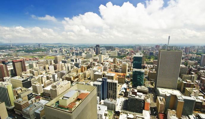 Johannesburg & Capetown version standard