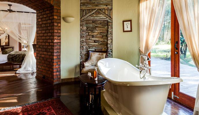 tintswalo safari lodge salle de bains