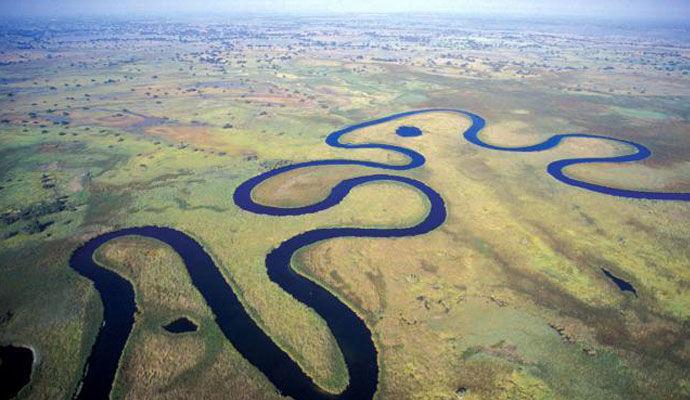 Delta de l Okavango