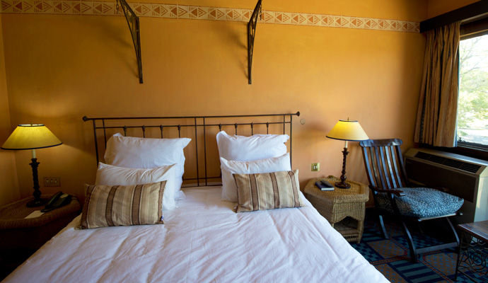 hwange safari lodge chambre