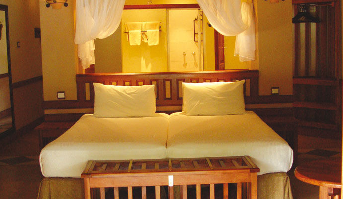 chambre standard chobe safari lodge