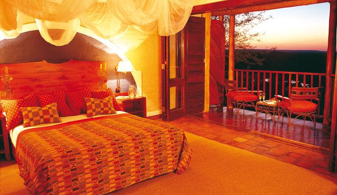 chambre deluxe victoria falls safari lodge