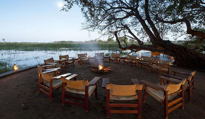 Botswana LExcellence à dos déléphant