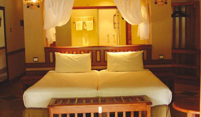 chambre standard chobe safari lodge