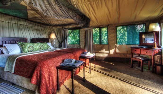 tente camp moremi