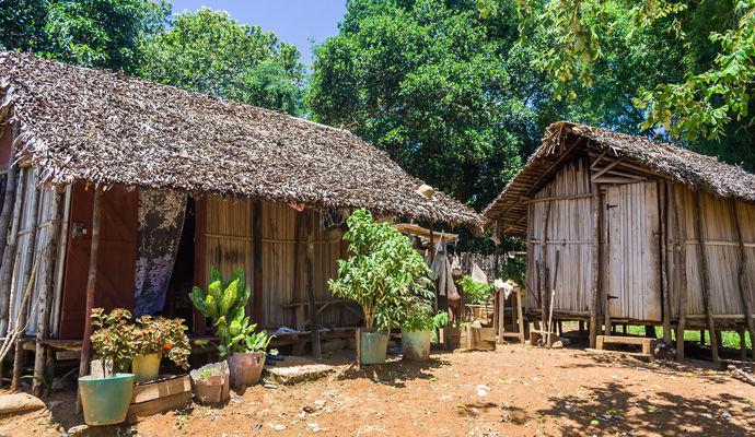 habitation typique Sakalava