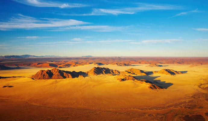 La Namibie vue d'en haut