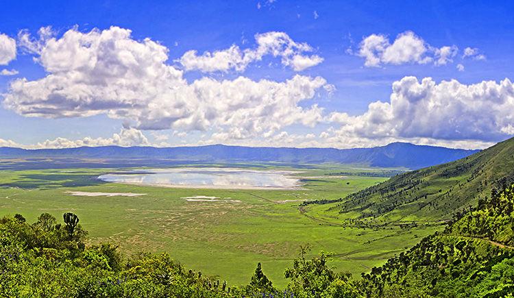 cratere du Ngorongoro
