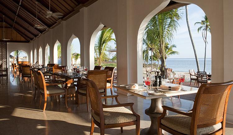 The Residence Zanzibar restaurant
