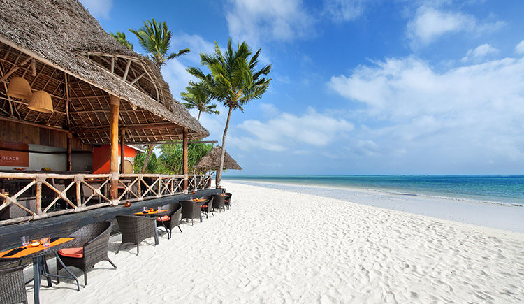 Melia Zanzibar beach bar
