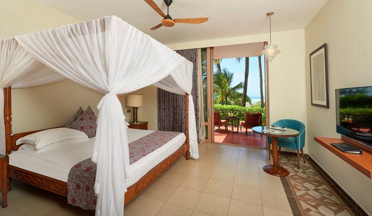 Melia Zanzibar chambre double jardin