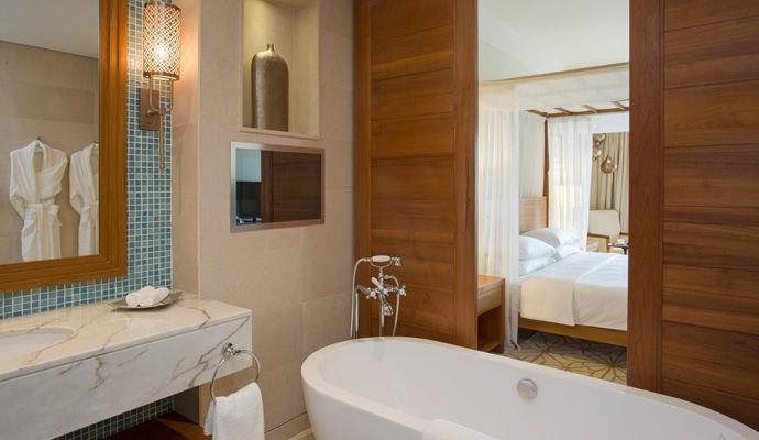 chambre king salle de bains
