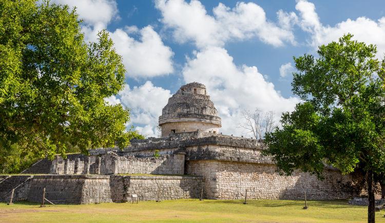 Première découverte du Yucatan