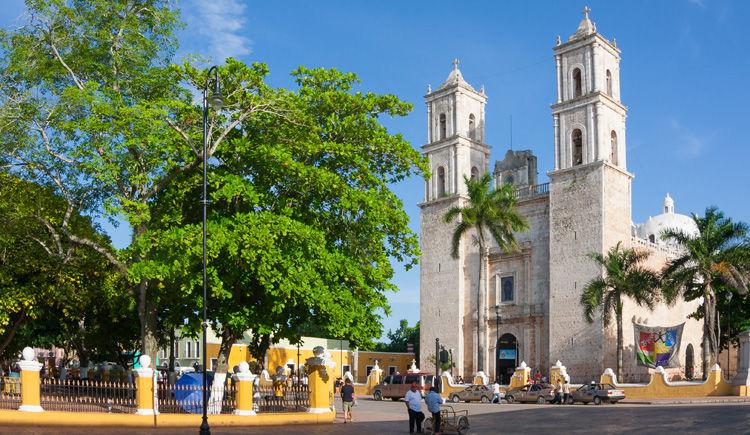 Merida Cathedral San Ildefonso
