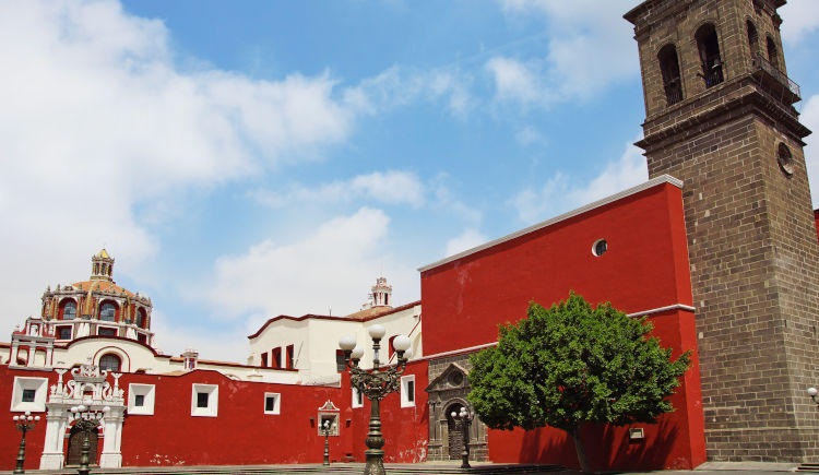 Eglise Santo Domingo Puebla