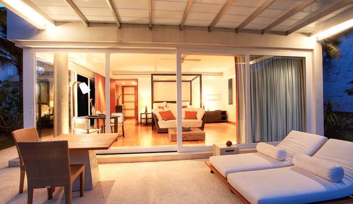 Chambre terrasse