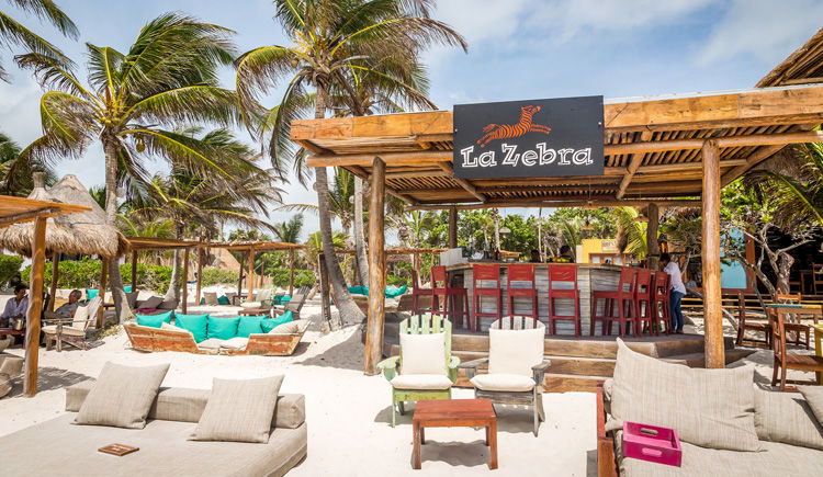 beach bar La Zebra