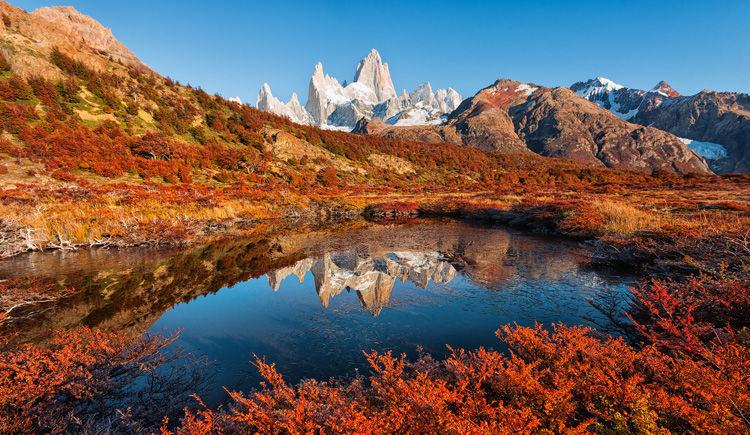 mont Fitz Roy vue du Parc National Los Glaciares