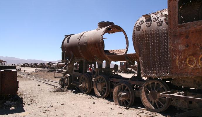 cimintiere de trains