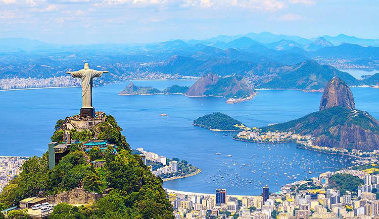 le Corcovado et le Christ Redempteur