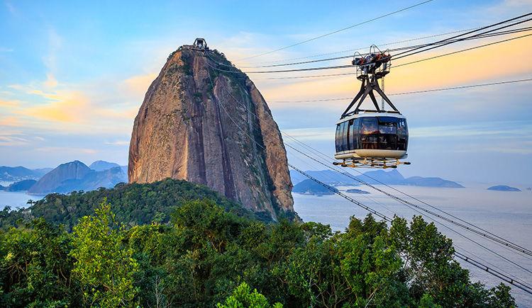telecabine pour le Morro da Urca