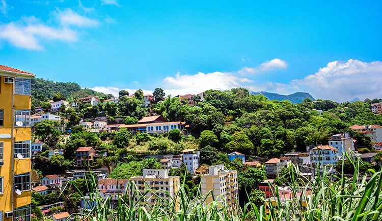quartier vert de Santa Teresa