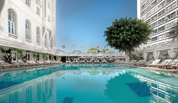Belmond Copacabana Palace piscine
