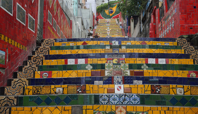 escadaria celaron rio de janeiro
