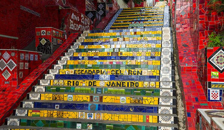 les escaliers de Jorge Selaron