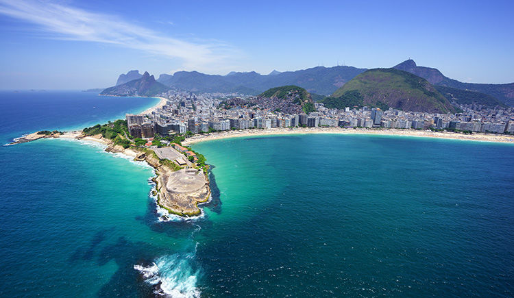 plage de Copacabana et Ipanema