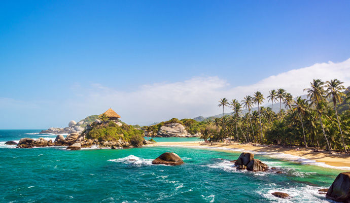 A la conquête de la Colombie - Catégorie Luxe  plage de Tayrona