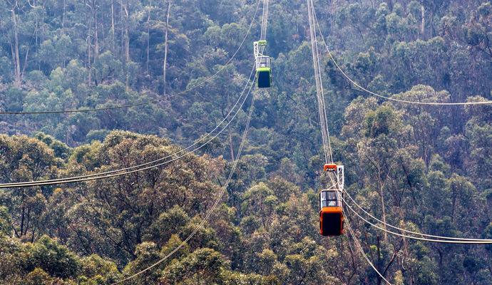 Panoramas Colombiens - Catégorie Charme  telepherique Monserrate