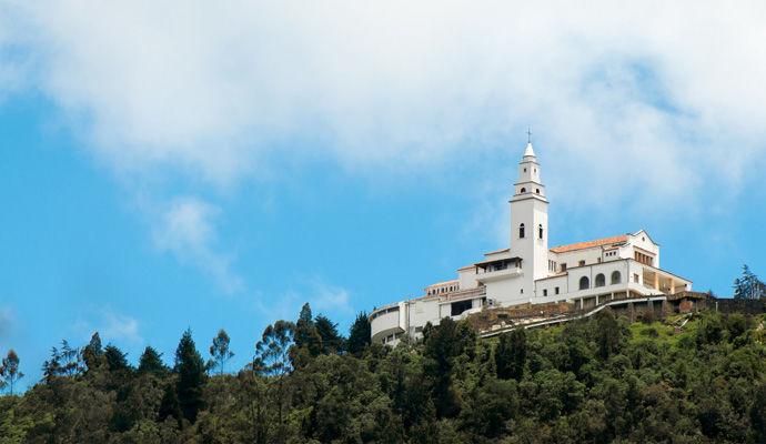 Panoramas Colombiens - Catégorie Charme  eglise Monserrate