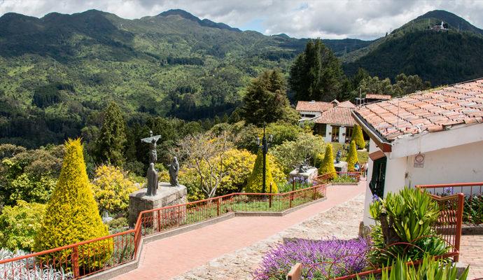Panoramas Colombiens - Catégorie Charme  Monserrate