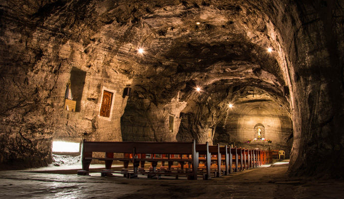 Panoramas Colombiens - Catégorie Luxe  cathedrale de sel a Zipaquira