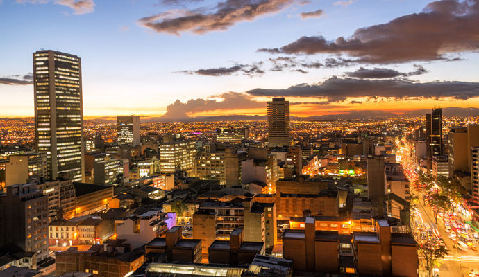 Panoramas Colombiens   Bogota