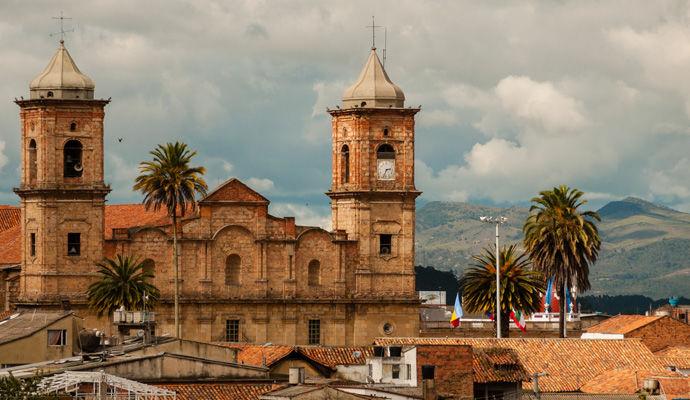 Panoramas Colombiens   eglise de Zipaquira