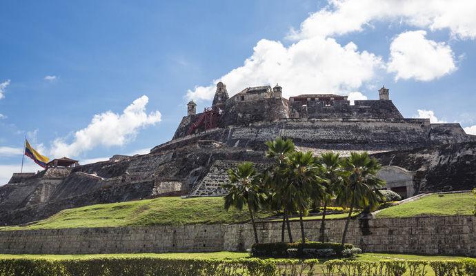 Panoramas Colombiens   chateau de San Felipe