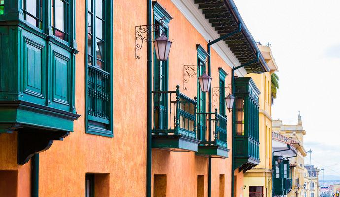 maison coloniale de Candelaria