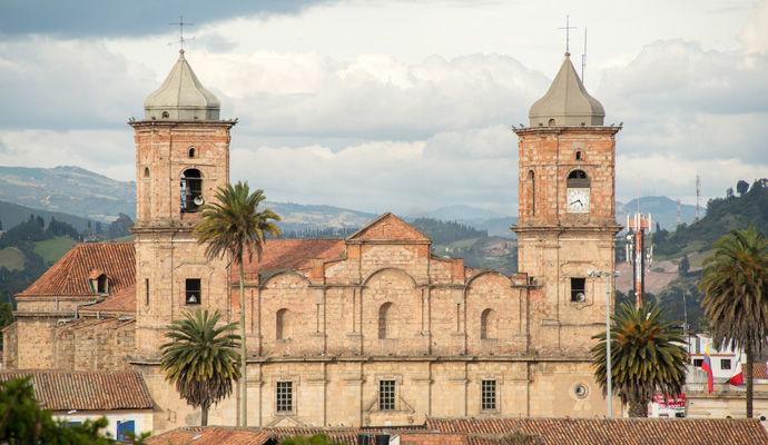 Première découverte de Colombie - Catégorie Charme  eglise de Zipaquira