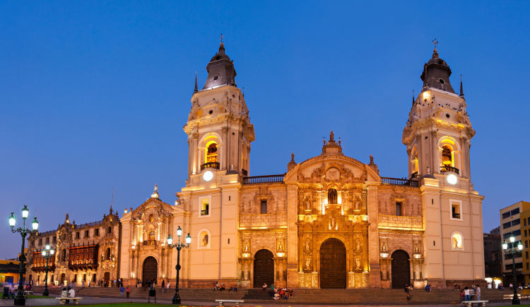 Lima cathedrale