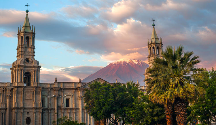 Arequipa volcan Le Misti