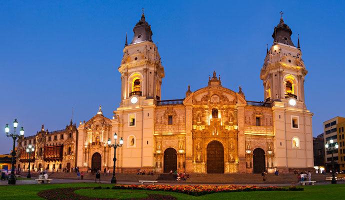 cathedrale de lima