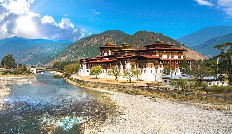monastere Dzong du Punakha